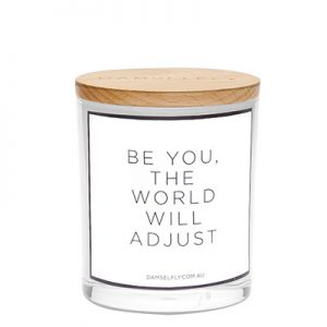 World Quote Candle - Beauty Lounge St Kilda
